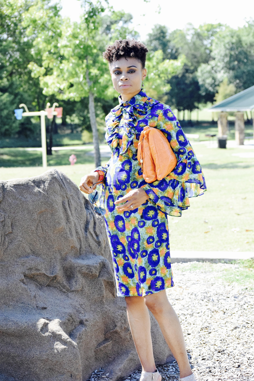 Beyonce Inspired Gucci ruffle sheath dress