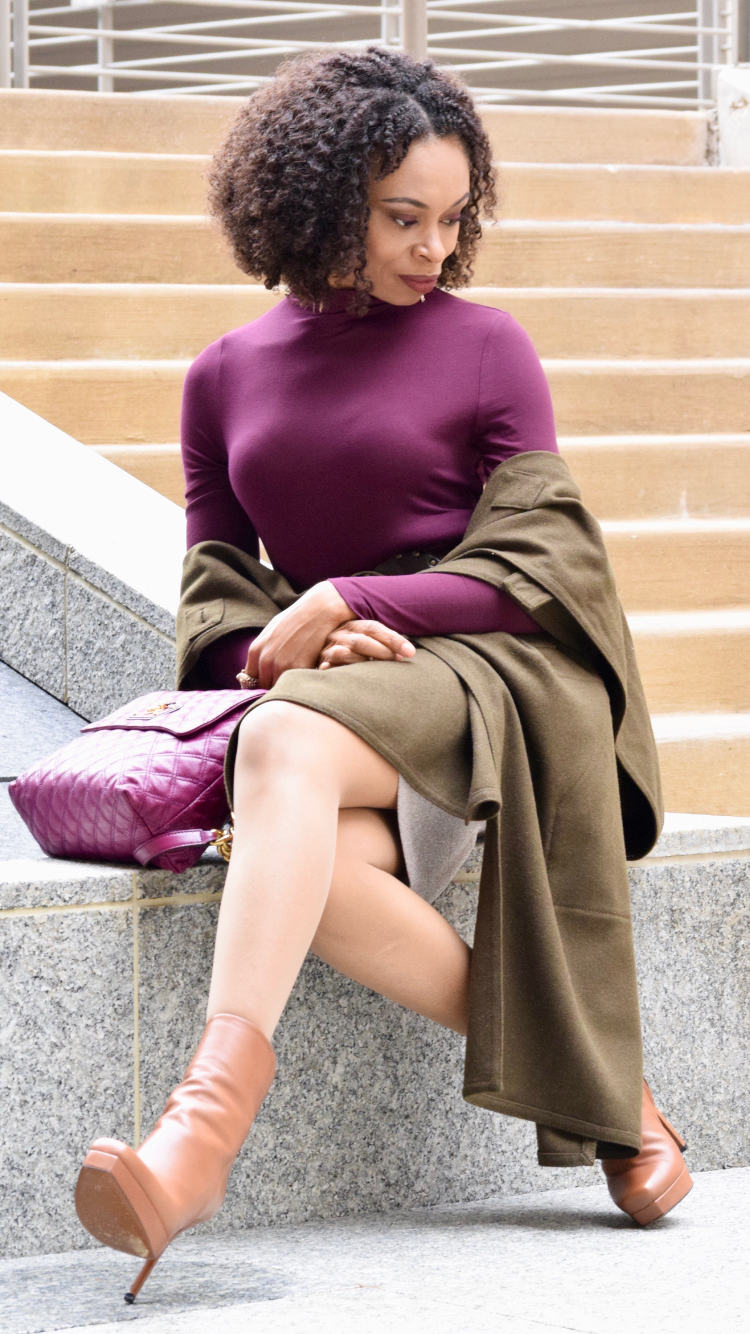 Posted by Vivellefashion in Purple Passion for Fall