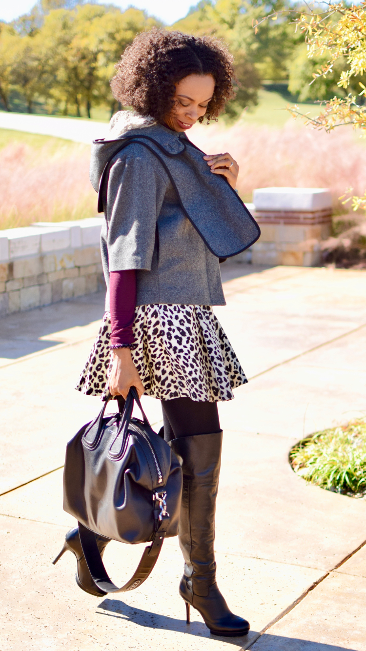 How to wear animal print Fall trend