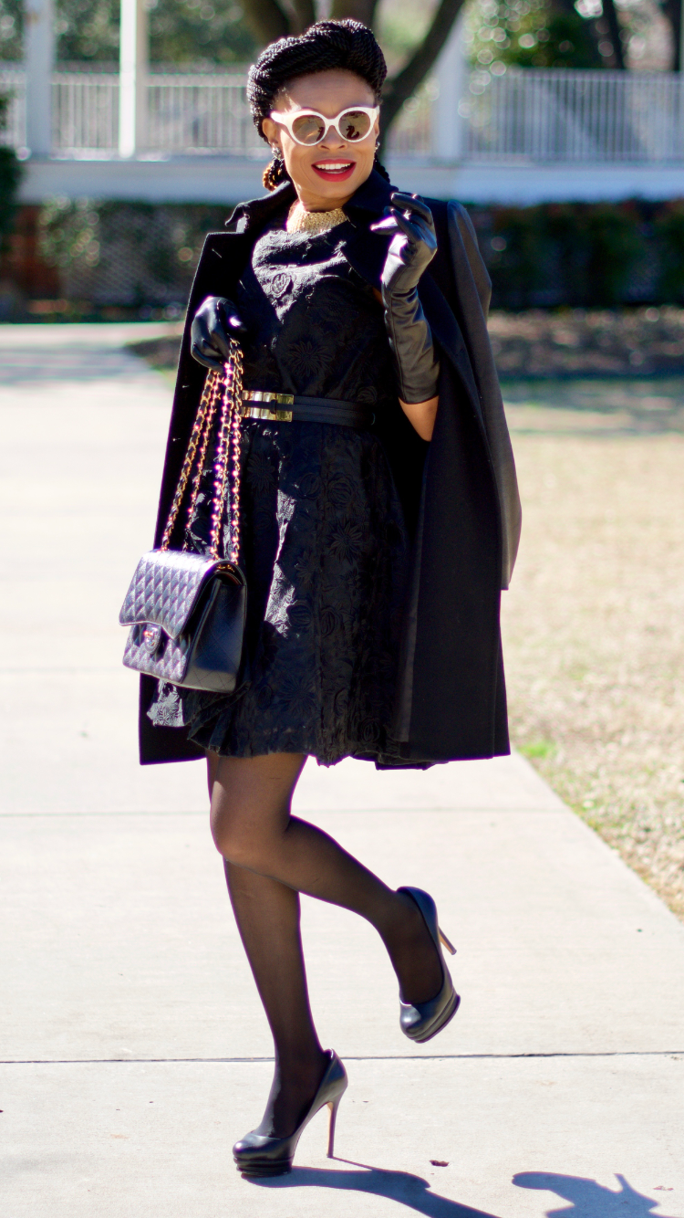 How to wear all black and slay it Posted by Vivellefashion
