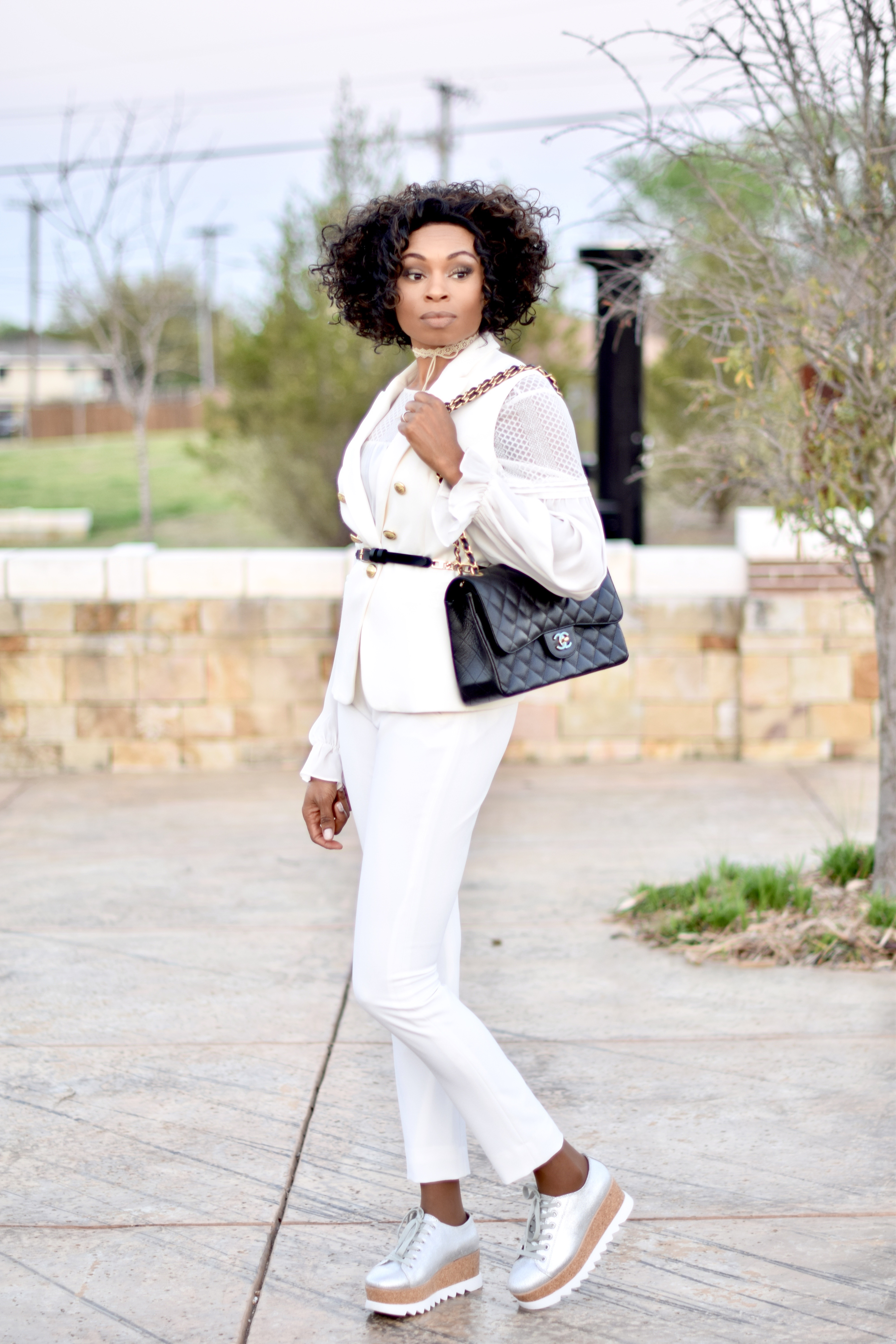 Platform Sneakers-updated styling tips posted by Vivellefashion