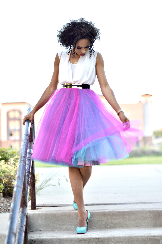 Tulle Skirt DIY