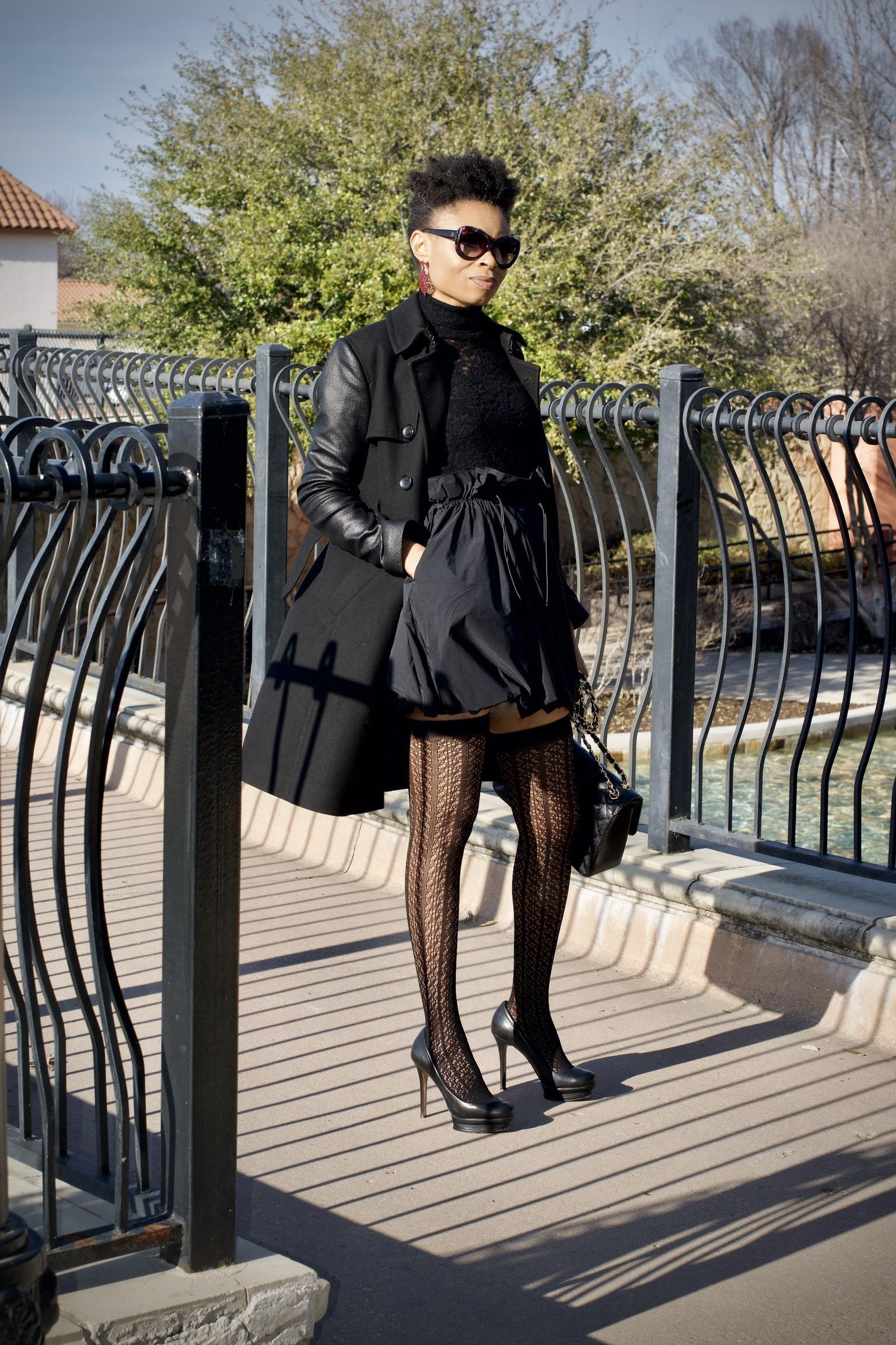 Stylish ways to style a balloon skirt