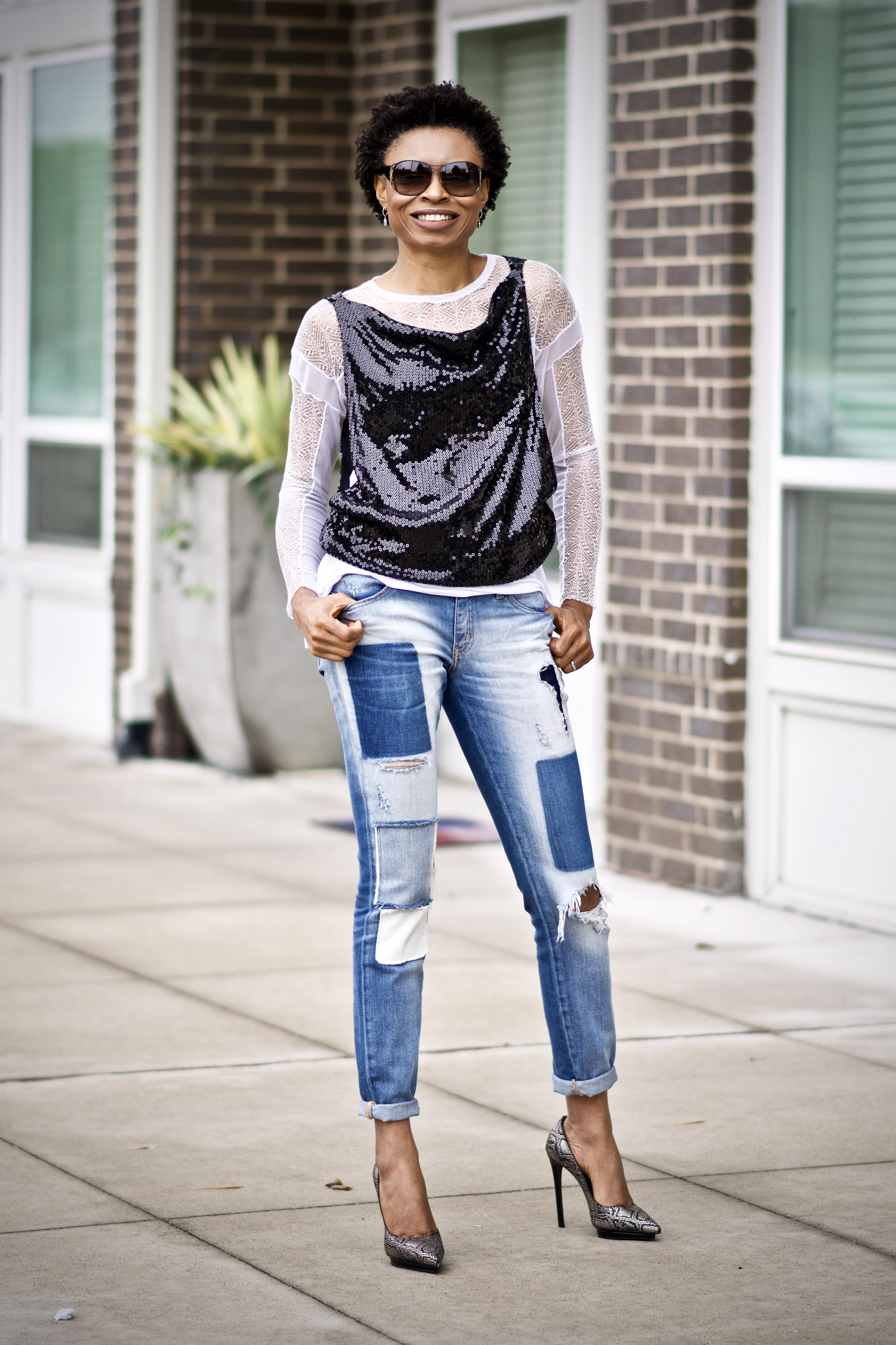 How to add sequins to your daytime style